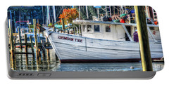 Crimson Tide In Harbor Portable Battery Charger