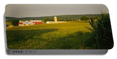 Crop In A Field, Frederick County Portable Battery Charger