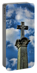 Portable Battery Charger featuring the photograph Cross Face 3 by Lesa Fine