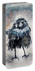 Crow After Rain Portable Battery Charger