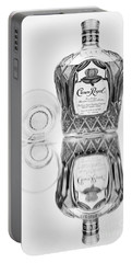 Crown Royal Black And White Portable Battery Charger