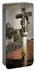 Cruceiro In Galicia Portable Battery Charger
