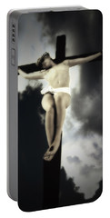 Crucified Christ Portable Battery Charger