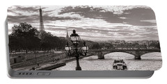 Cruise On The Seine Portable Battery Charger