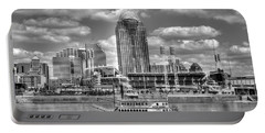 Cruising By Cincinnati 4 Bw Portable Battery Charger