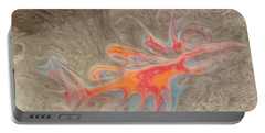 Portable Battery Charger featuring the painting Crustacean by Mike Breau