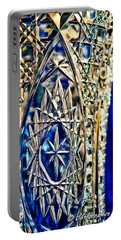 Crystal Blue Persuaded Portable Battery Charger