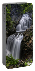 Crystal Cascade In Pinkham Notch Portable Battery Charger