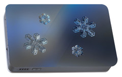 Portable Battery Charger featuring the photograph Crystals Of Day And Night by Alexey Kljatov