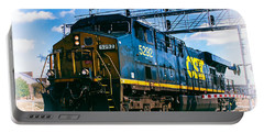Csx 5292 Warner Street Crossing Portable Battery Charger