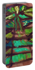 Cubist Tree Portable Battery Charger by Mary Carol Williams