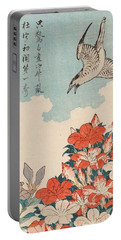 Cuckoo And Azaleas Portable Battery Charger
