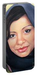 Cultured Beauty Portable Battery Charger by Malinda  Prudhomme