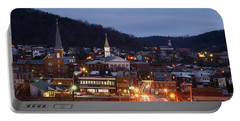 Cumberland At Night Portable Battery Charger by Jeannette Hunt