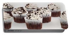 Chocolate Cupcake Cuties Panorama Portable Battery Charger by Andee Design