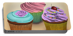 Cupcakes Portable Battery Charger