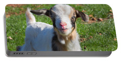 Curious Baby Goat Portable Battery Charger