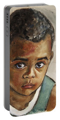 Curious Little Boy Portable Battery Charger