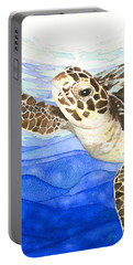 Curious Sea Turtle Portable Battery Charger