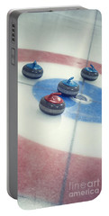 Curling Stones Portable Battery Charger