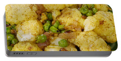 Curried Cauliflower Portable Battery Charger by Science Source