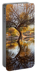Curved Reflection Portable Battery Charger by Kerri Mortenson