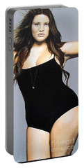 Curvy Beauties - Tara Lynn Portable Battery Charger by Malinda  Prudhomme
