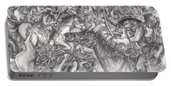 Custer's Clash Portable Battery Charger by Scott and Dixie Wiley