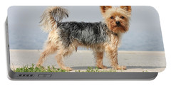 Cut Little Dog In The Sun Portable Battery Charger