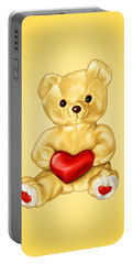 Cute Teddy Bear Hypnotist Portable Battery Charger
