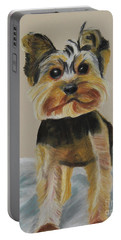 Cute Yorkie Portable Battery Charger
