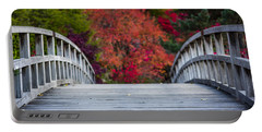 Portable Battery Charger featuring the photograph Cypress Bridge by Sebastian Musial