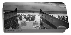 D-day Landing Portable Battery Charger
