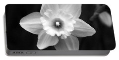 Daffodils - Infrared 01 Portable Battery Charger