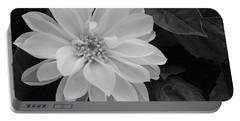 Dahlia Portable Battery Charger by Ellen Henneke