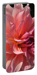 Portable Battery Charger featuring the photograph Dahlia Named Fire Magic by J McCombie