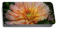 Dahlia Splendor Portable Battery Charger