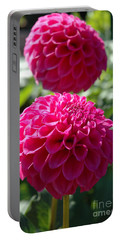 Dahlia Xi Portable Battery Charger by Christiane Hellner-OBrien