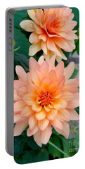 Dahlias Portable Battery Charger