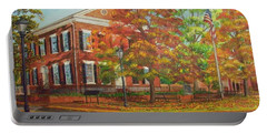 Dahlonega's Gold Museum In Autumn Portable Battery Charger