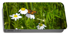 Daisey And Butterfly Portable Battery Charger