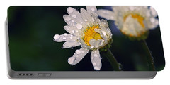 Daisies In The Rain Portable Battery Charger