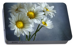 Portable Battery Charger featuring the photograph Daisy Bouquet by Ann Lauwers