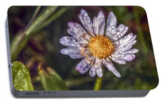 Portable Battery Charger featuring the photograph Daisy by Hanny Heim