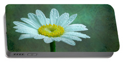 Daisy In The Rain Portable Battery Charger
