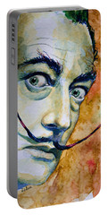 Dali Portable Battery Charger by Laur Iduc