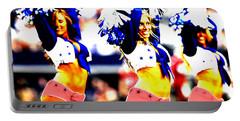 Dallas Cowboys Cheerleaders Portable Battery Charger