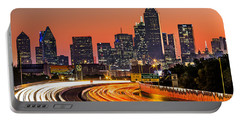 Dallas Sunrise Portable Battery Charger by Mihai Andritoiu