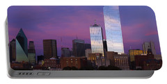 Dallas Sunset Portable Battery Charger