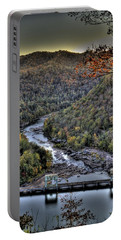 Portable Battery Charger featuring the photograph Dam In The Forest by Jonny D